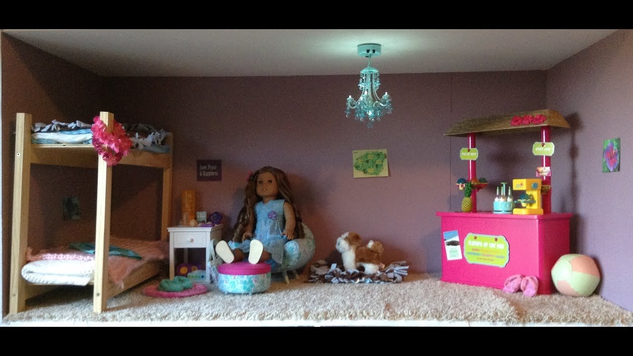 Best American Girl Kanani S Bedroom Youtube With Pictures