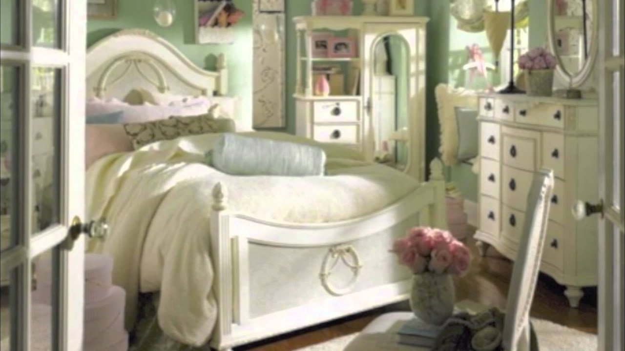 Best Shabby Chic Bedrooms Youtube With Pictures