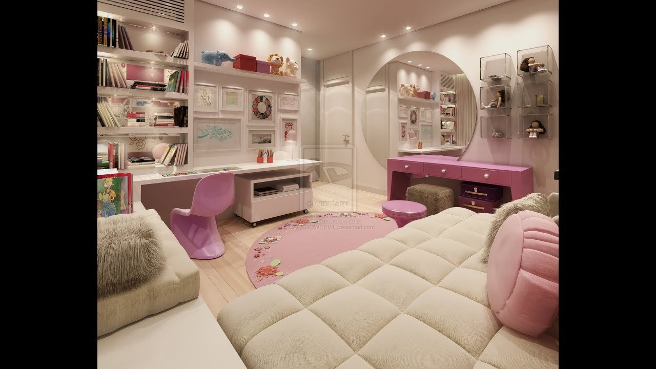 Best 45 Most Popular Beautiful Teenage Girls Rooms Design Ideas Youtube With Pictures