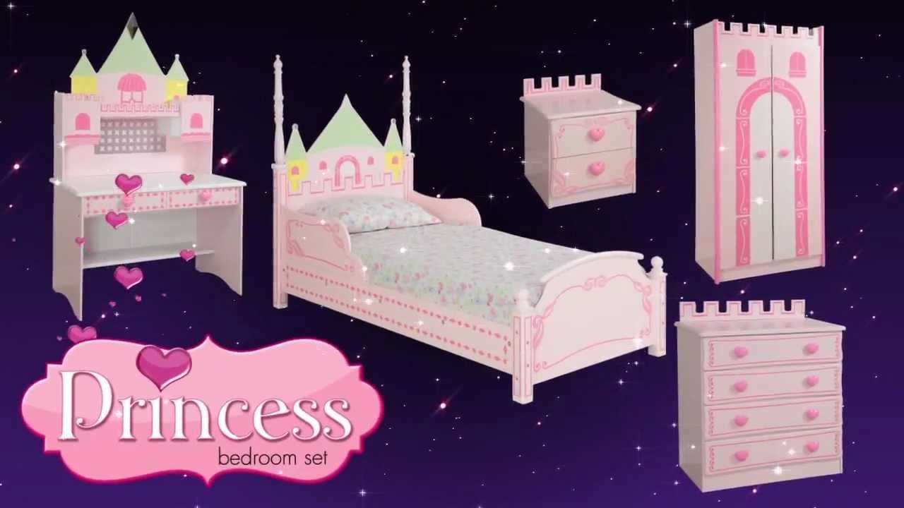 Best Princess Castle Theme Bed Bedroom Furniture For Kids With Pictures