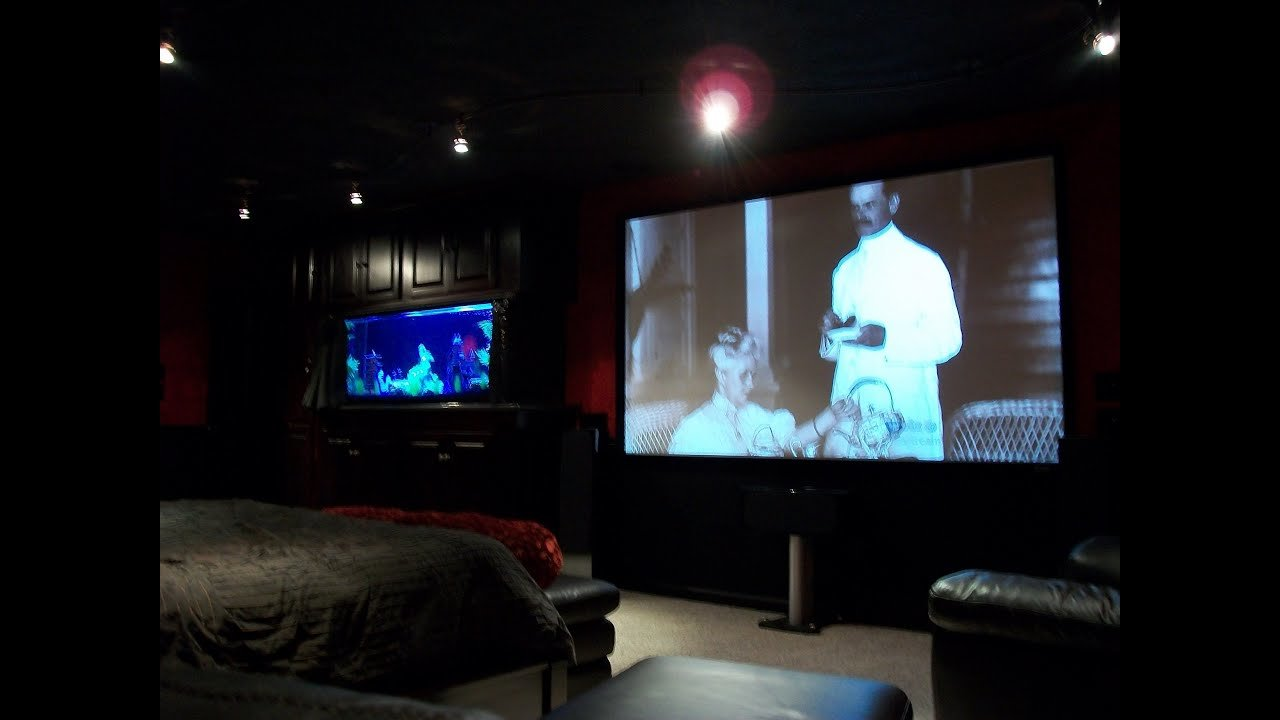Best Bedroom Movie Theater Av Rack Youtube With Pictures