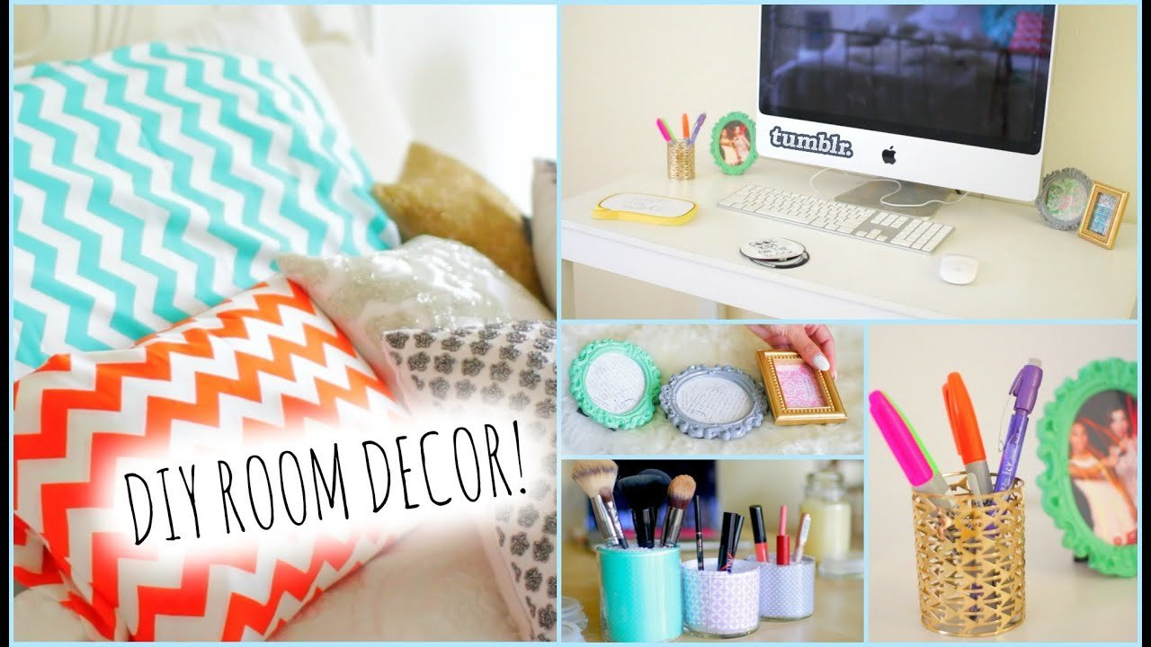 Best Diy Room Decorations For Cheap How To Stay Organized Youtube With Pictures
