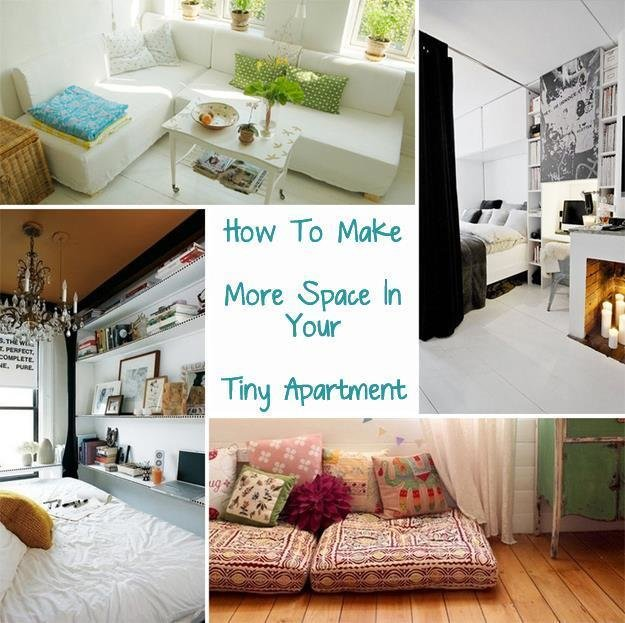 Best How To Make More Space In Your Tiny Apartment – Just With Pictures