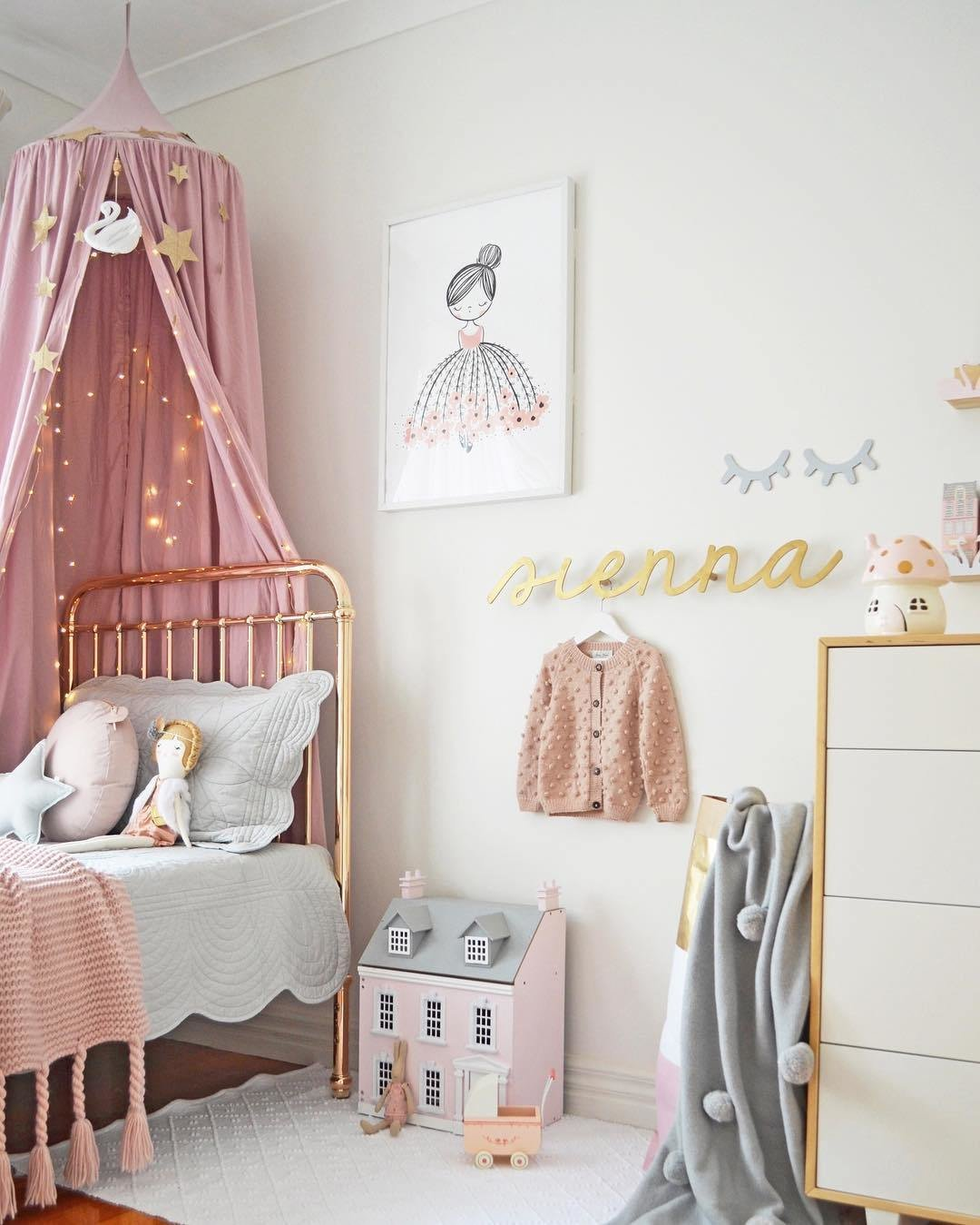 Best Girls Pink Bedroom Accessories Kids Room Ideas With Pictures