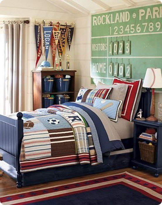 Best Sports Themed Boy's Room With Pictures