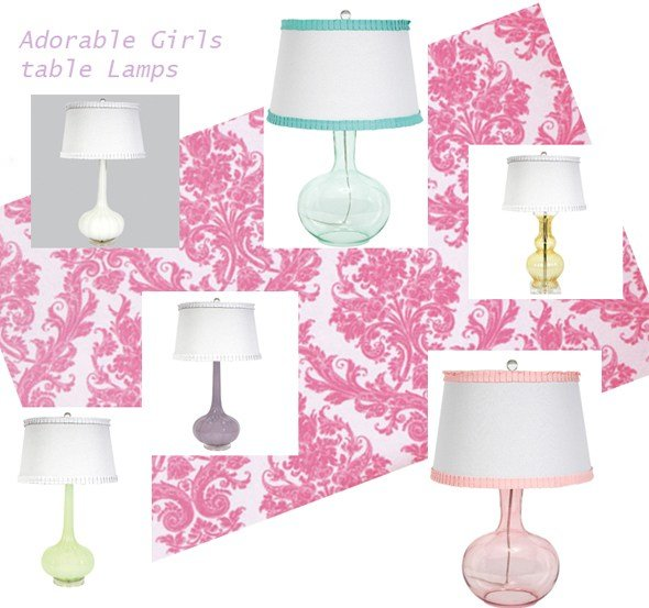 Best Table Lamps For Girls Lighting And Ceiling Fans With Pictures
