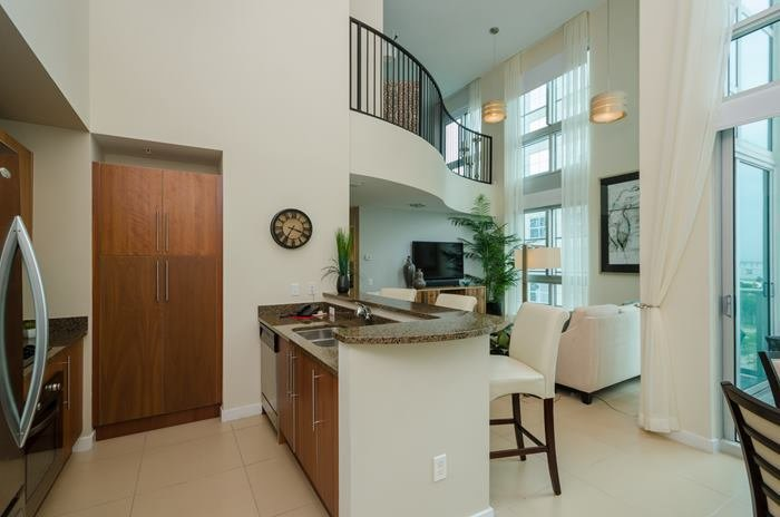 Best Beautiful Loft Style 2 Bedroom Corner Unit At Met 1 Miami With Pictures