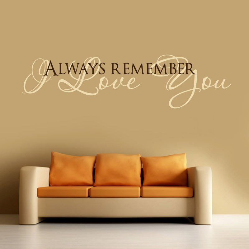 Best I Love You Vinyl Wall Decal Words Lettering Quote With Pictures