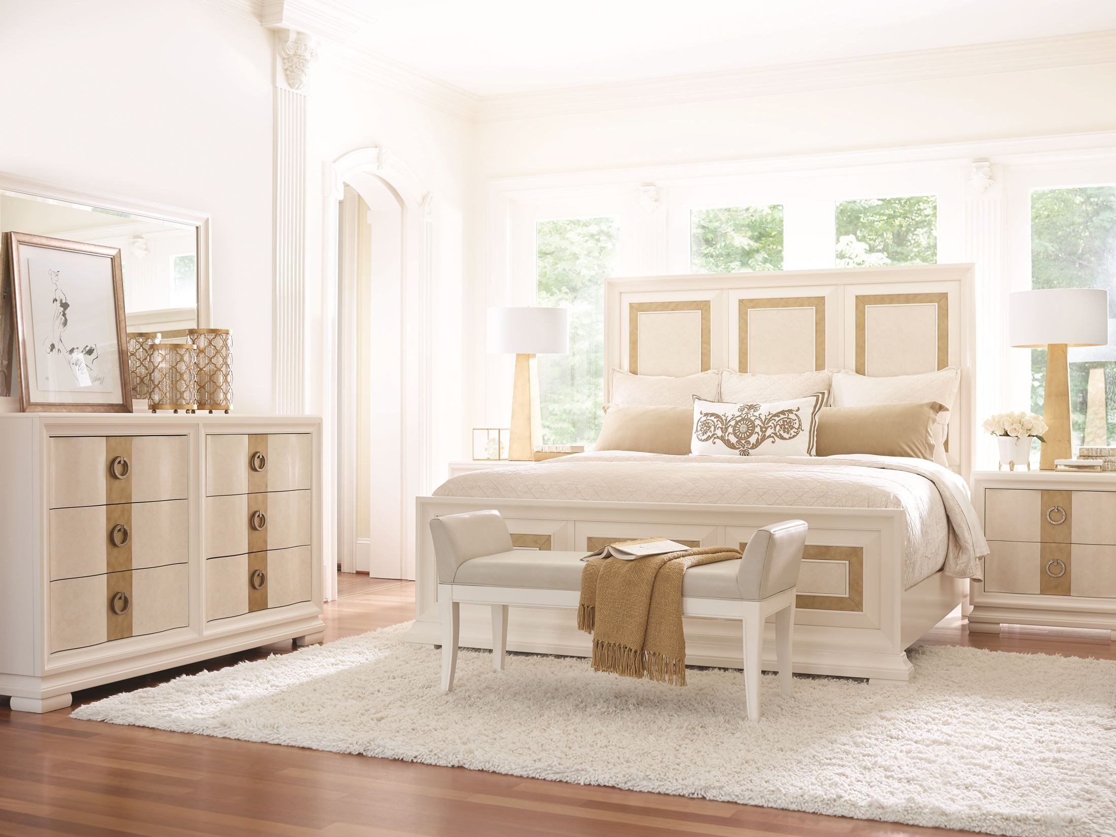 Best Tower Suite Pearl Panel Bedroom Set From Legacy Classic With Pictures
