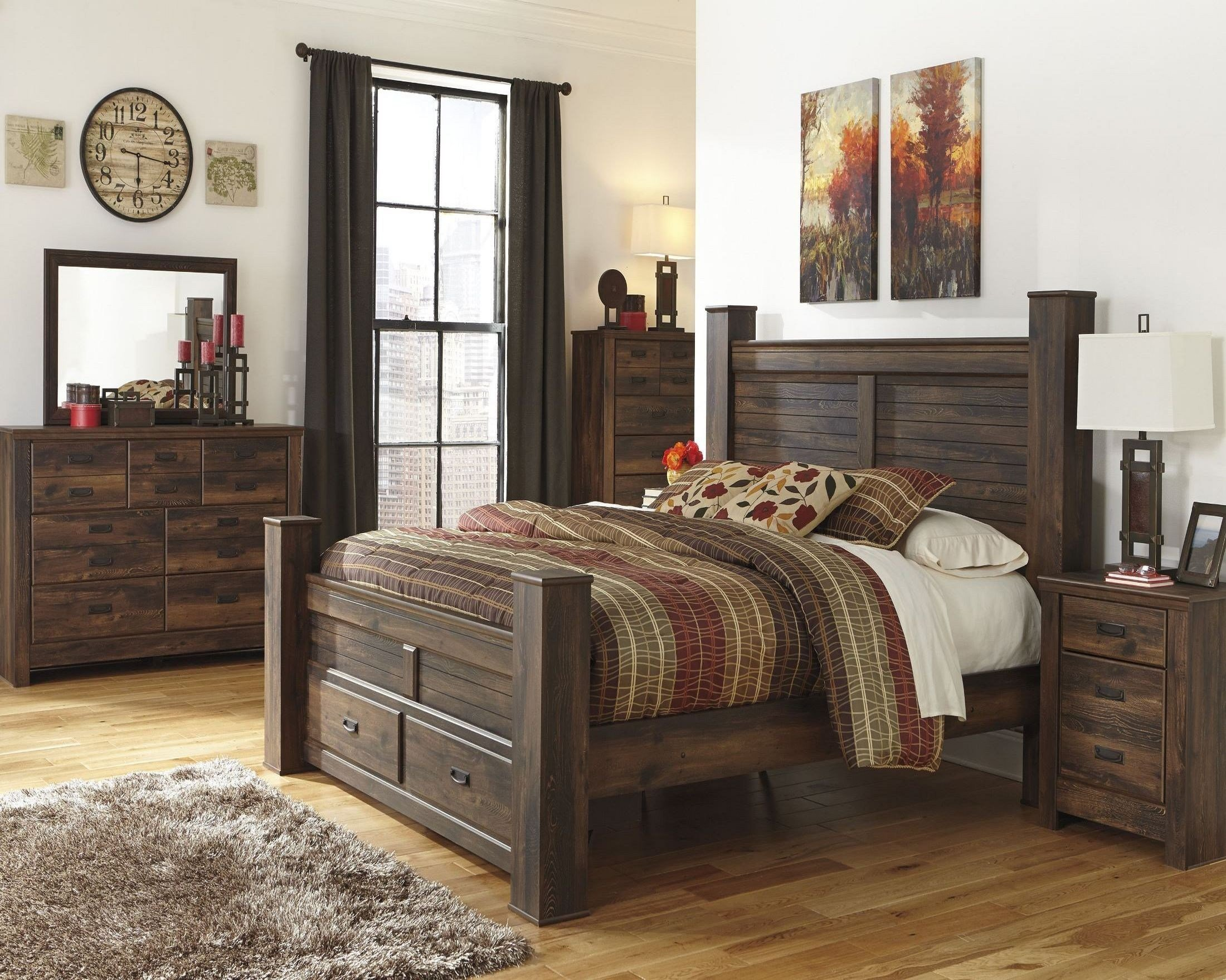 Best Quinden Poster Storage Bedroom Set From Ashley B246 61 64S 98 Coleman Furniture With Pictures
