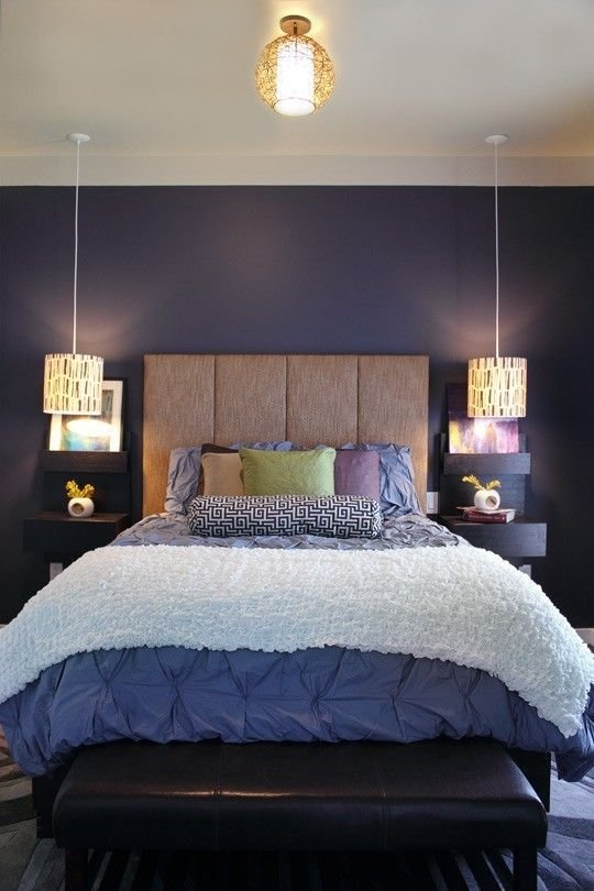 Best Amazing Bedrooms With Hanging Bedside Lights Decoholic With Pictures