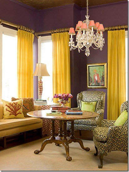 Best Color Schemes Plum Grape Daisy… Design Indulgences With Pictures