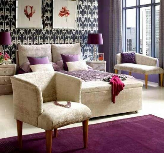 Best Chairs Purple Accents In Bedroom Jpeg With Pictures
