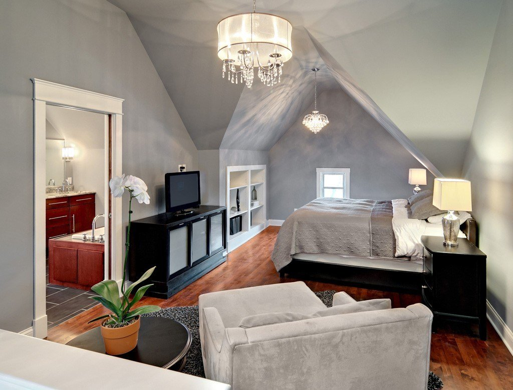 Best Attic Remodel To A Bedroom And Bathroom Conversion With Pictures