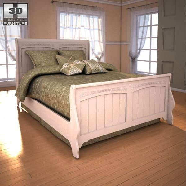 Best Ashley Cottage Retreat Sleigh Bedroom Set 3D Model Humster3D With Pictures