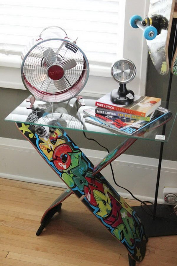Best 20 Fun And Creative Skateboard Upcycling Ideas Hative With Pictures