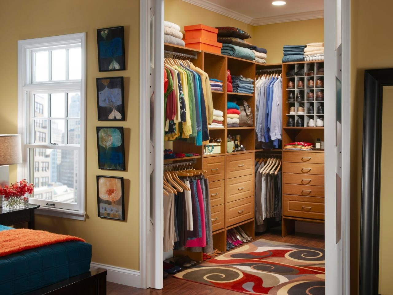 Best Closet Curtain Designs And Ideas Hgtv With Pictures