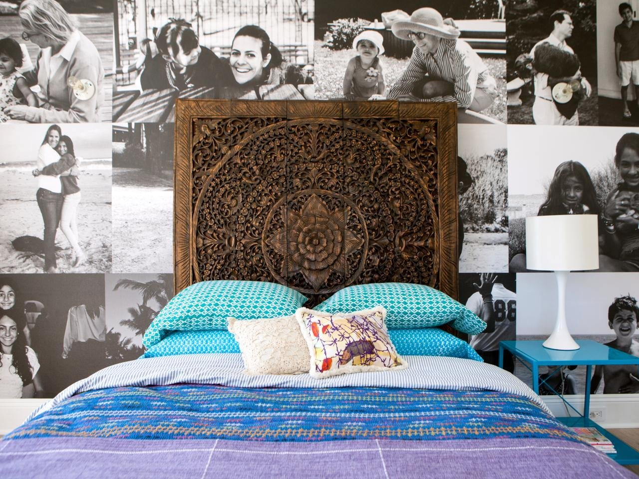 Best Learn How To Create And Hang A Custom Wall Mural Hgtv S Decorating Design Blog Hgtv With Pictures