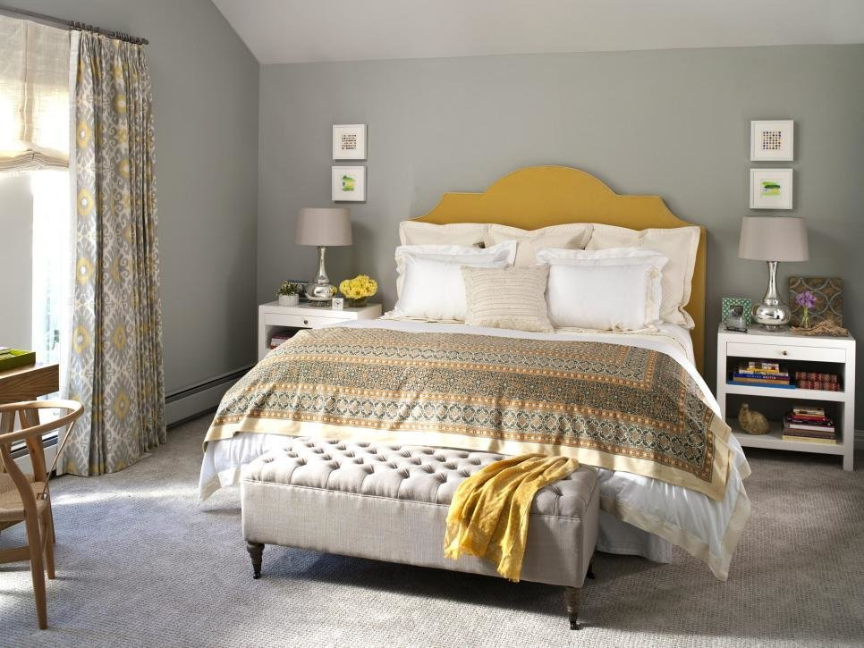 Best Contemporary Master Bedroom Makeover Hgtv With Pictures