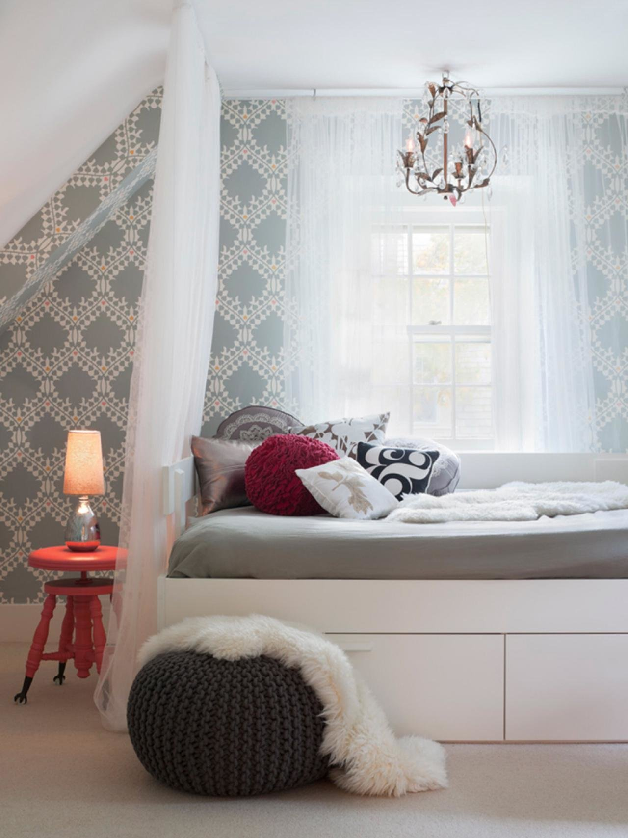 Best Sophisticated T**N Bedroom Decorating Ideas Hgtv S With Pictures