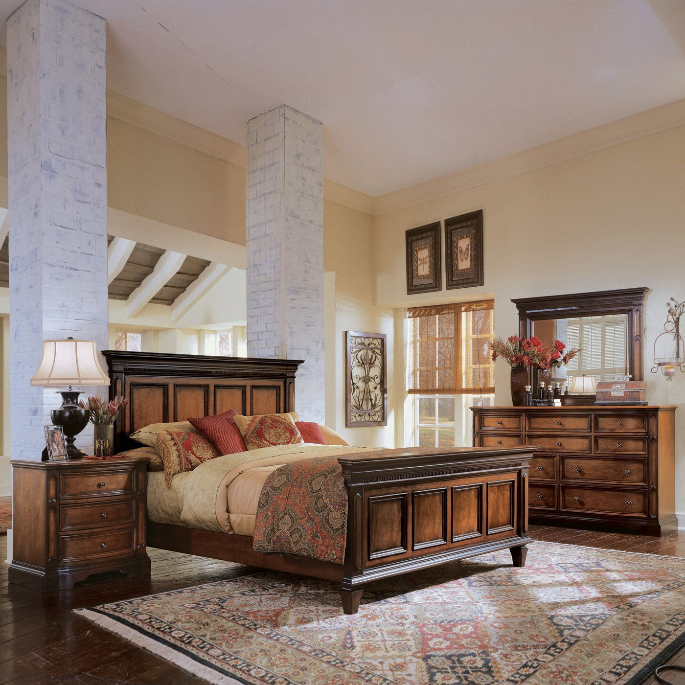Best Universal Furniture Brentwood Panel Bedroom Set Two Tone With Pictures