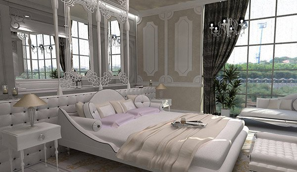 Best 15 Modern Vintage Glamorous Bedrooms Home Design Lover With Pictures