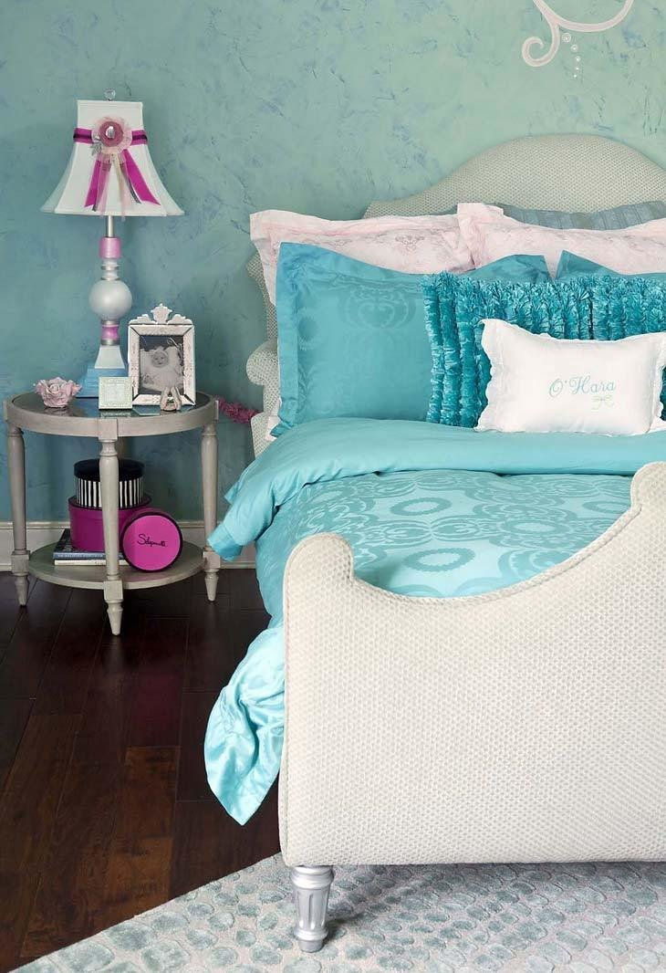 Best Turquoise Children's Room For Girls Ideas For Home With Pictures