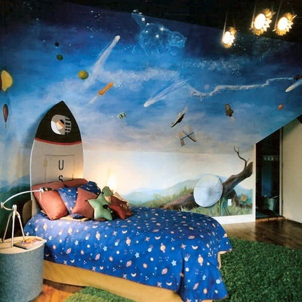 Best Cool Boys Bedroom Theme With Superman Ideas With Pictures
