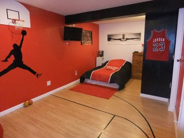 Best 20 Sporty Bedroom Ideas With Basketball Theme Home With Pictures