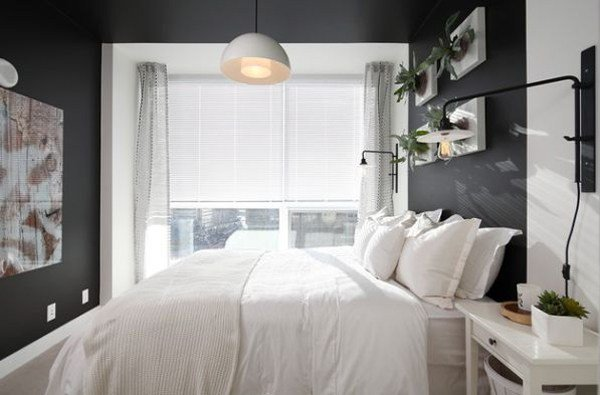 Best Small Bachelor Pad Bedroom With Planter Walls With Pictures