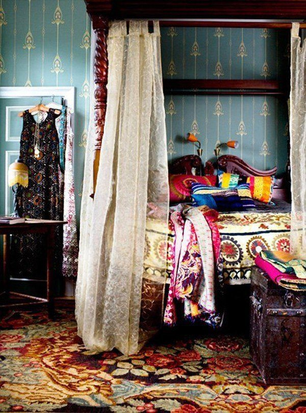 Best Colorful Gypsy Bedroom Interior Design With Pictures