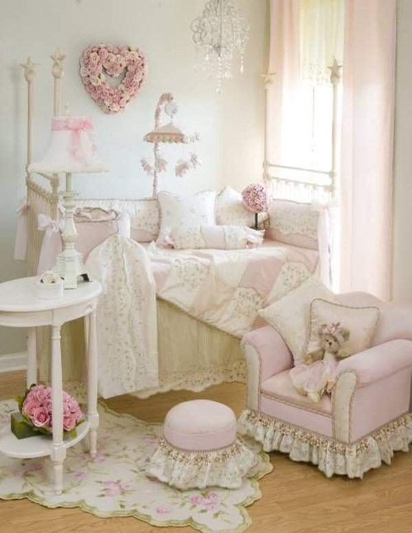 Best Shabby Chic Baby Nursery With Pink Decor With Pictures