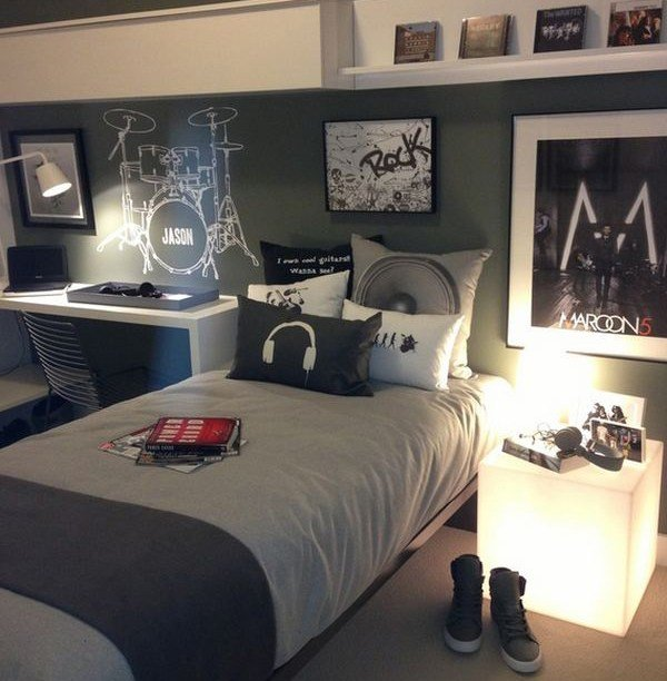 Best 10 Super Cool Music Bedroom For Teenage Boys Home Design And Interior With Pictures