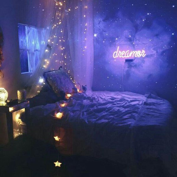 Best 10 Cozy And Dreamy Bedroom With Galaxy Themes Home Design And Interior With Pictures
