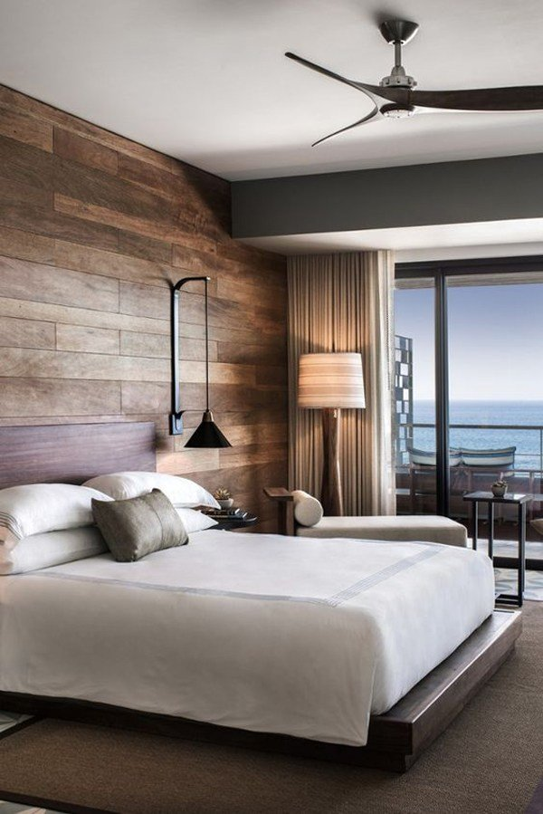 Best 18 Wooden Accent Wall Ideas For Modern Bedroom Home With Pictures