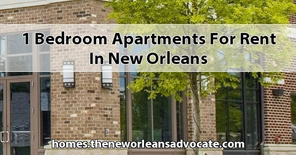 Best 1 Bedroom Apartments For Rent In New Orleans With Pictures