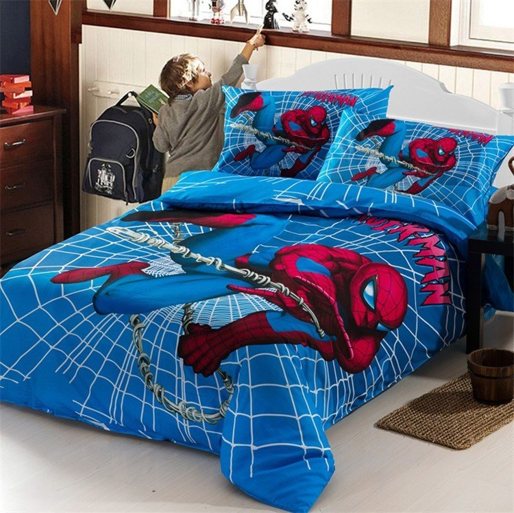 Best Superhero Bedding Sets Homesfeed With Pictures
