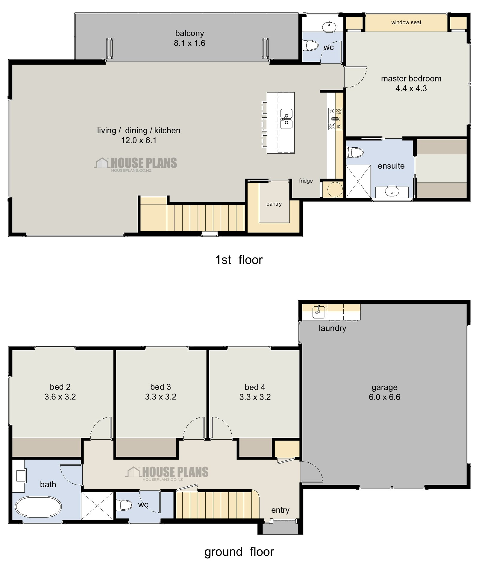 Best Wanaka 4 Bedroom 2 Storey House Plans New Zealand Ltd With Pictures