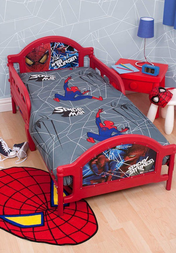 Best 20 Kids Bedroom Ideas With Spiderman Themed House Design With Pictures