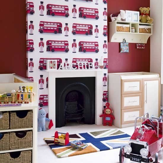 Best London Themed Boy S Bedroom Modern Designs Wallpaper With Pictures