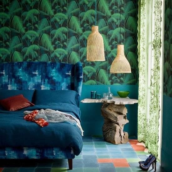 Best Wow Wallpaper 10 Decorating Ideas Housetohome Co Uk With Pictures