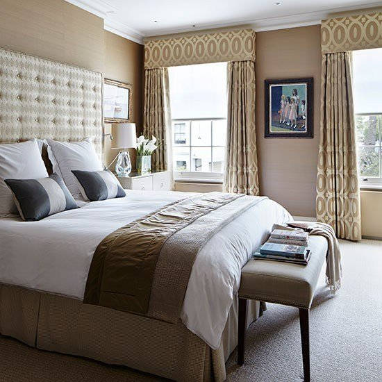 Best Tonal Brown And Beige Bedroom Bedroom Decorating Housetohome Co Uk With Pictures