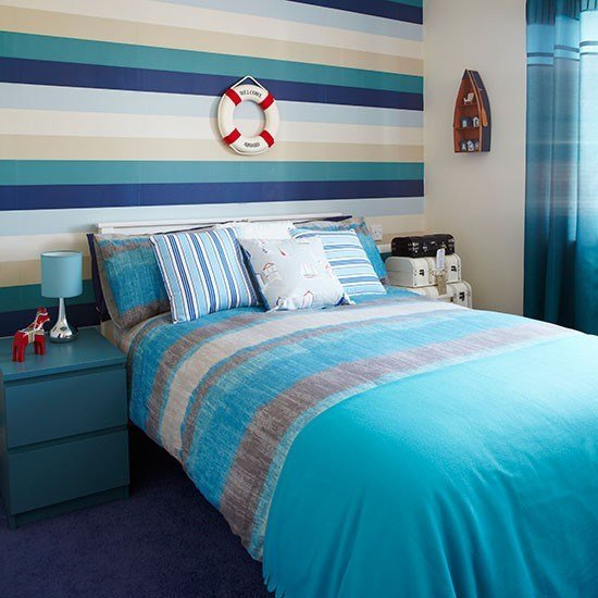 Best Turquoise And Cream Bedroom Decorating Housetohome Co Uk With Pictures
