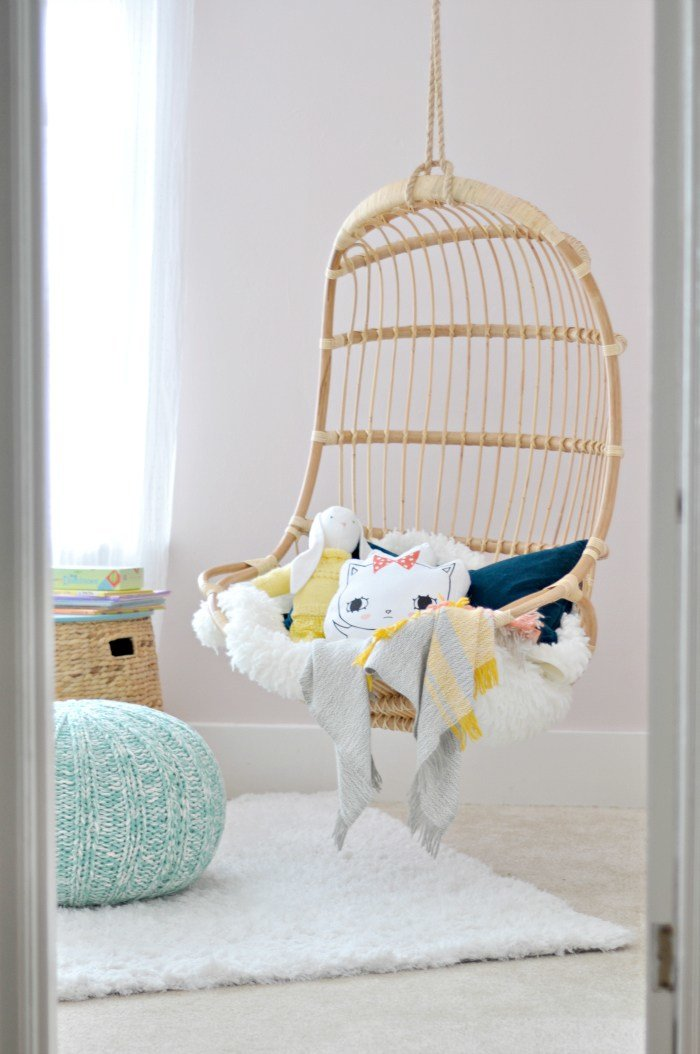 Best Orc Girl S Room The Hanging Chair Is In Fall 2015 With Pictures