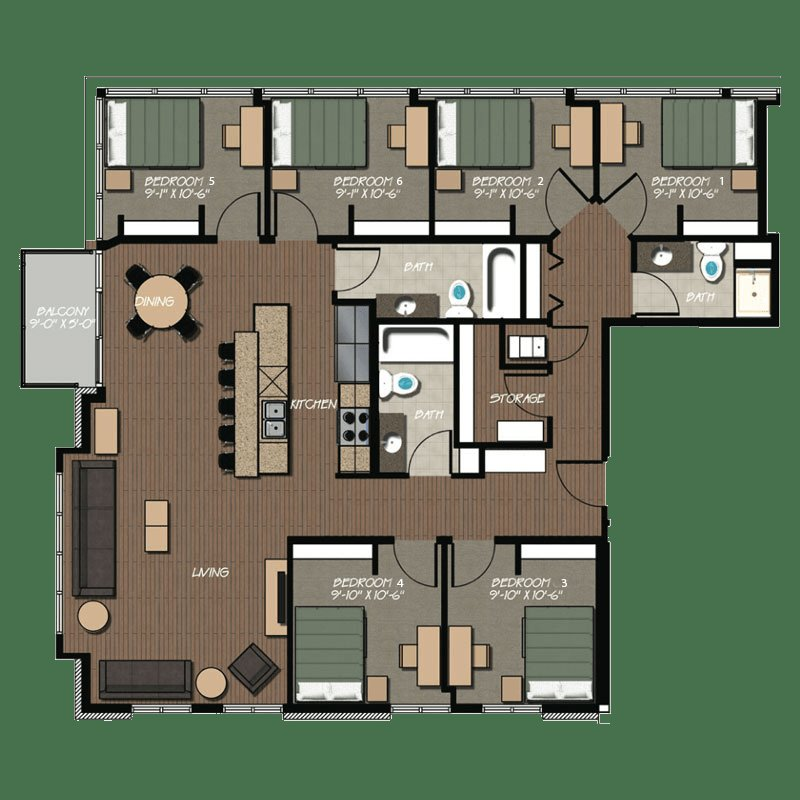 Best 229 Apartment Floor Plans Hovde Properties With Pictures