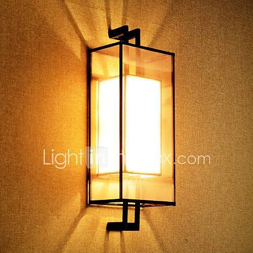 Best Retro Rustic Nordic Glass Wall Lamp Bedroom Bedside Wall With Pictures