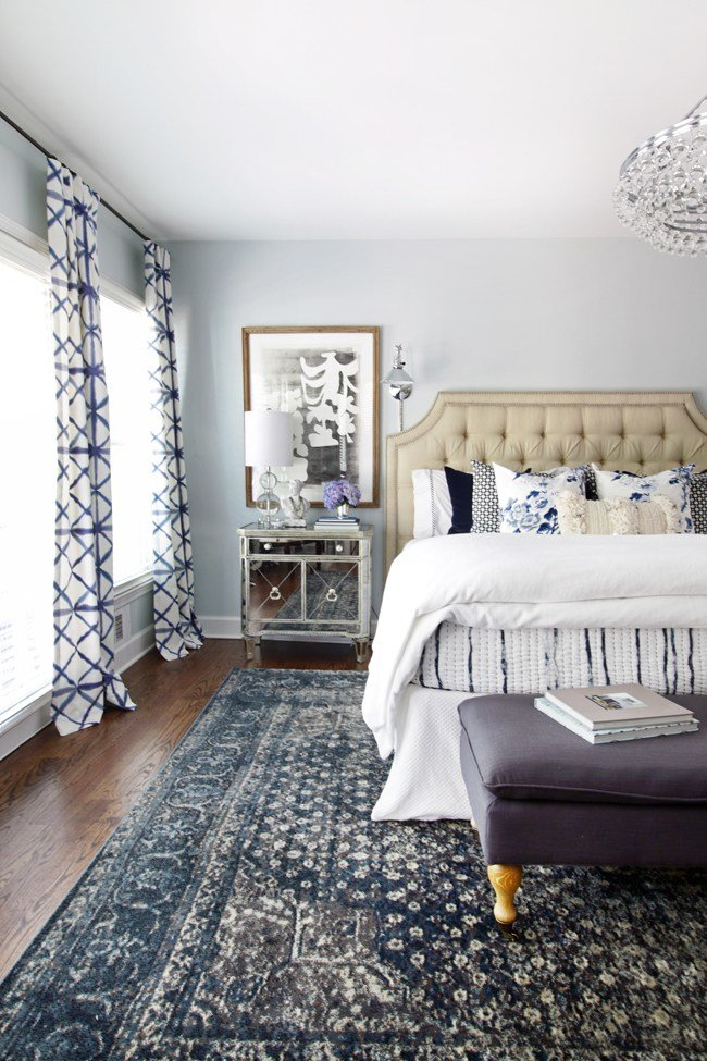 Best Inspired By Blue Patterned Statement Rugs The Inspired With Pictures