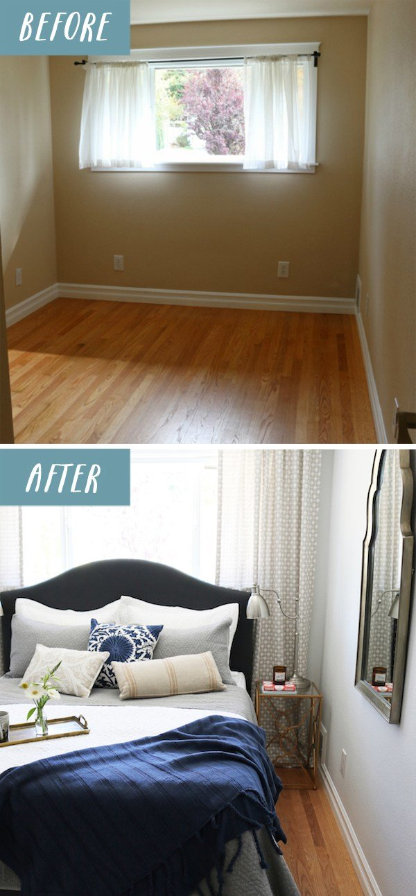 Best Small Bedroom Makeover Before After The Inspired Room With Pictures
