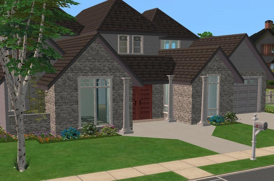 Best 28 Inspiring Sims 3 4 Bedroom House Design Photo Home With Pictures
