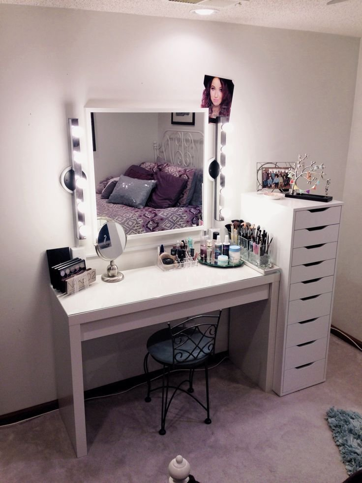Best Dresser And Makeup Vanity Ideas Ikea Combination Atzine Com With Pictures